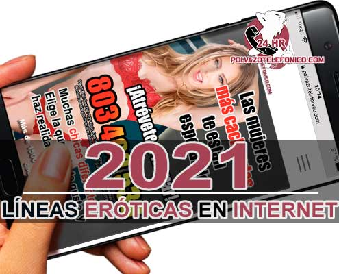 líneas eróticas 803 internet