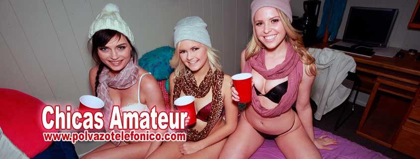 chicas amateur